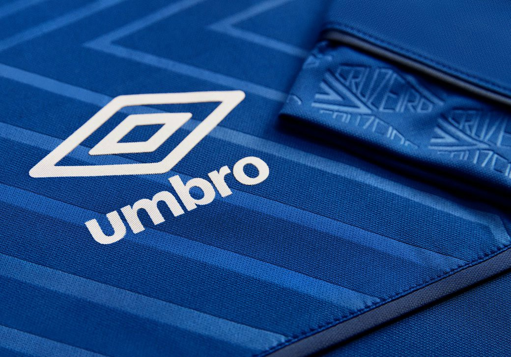 Umbro Cruzeiro Kit 2018 CloseupUmbro Cruzeiro Kit 2018 Closeup