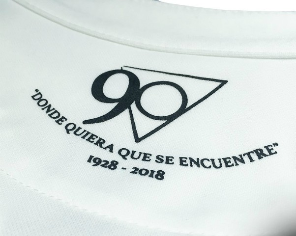 Back of Leganes Kit 90th Anniversary