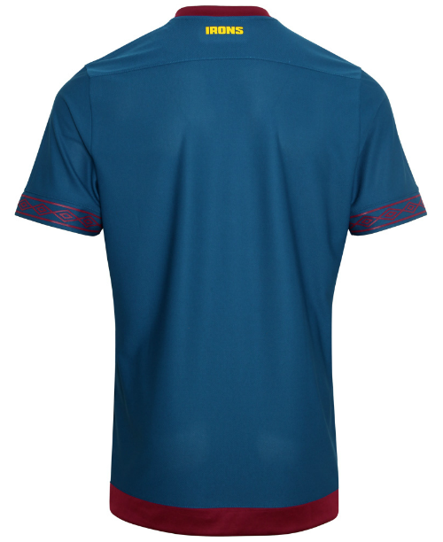 Back of West Ham Away Shirt 18-19