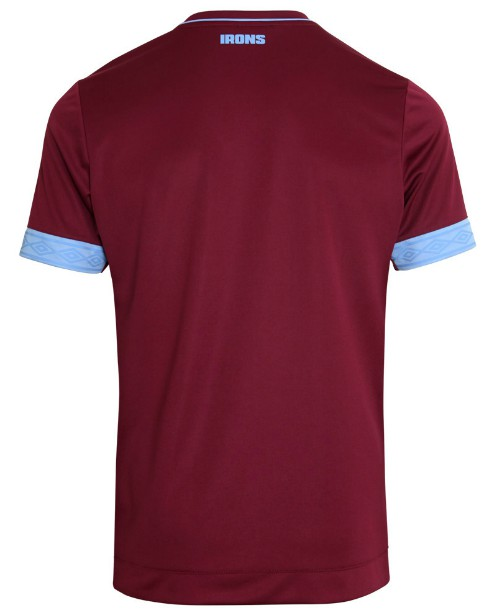 Back of West Ham Jersey 18-19