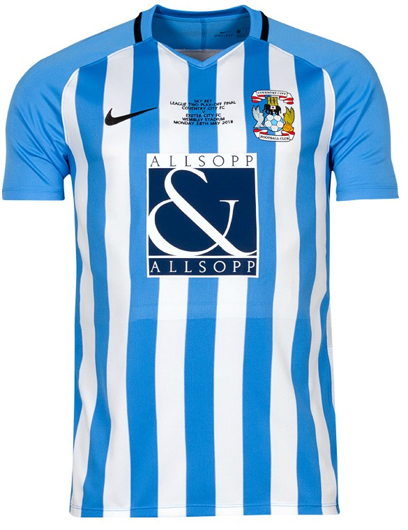 Coventry City Playoff Final Kit 2018