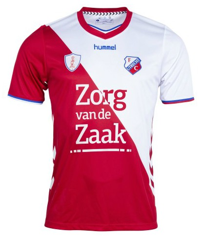 FC Utrecht New Shirt 2018 19 Change