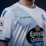 New Macron Deportivo Third Kit 2018-19 | Jersey with Anthem unveiled on Galician Literature Day