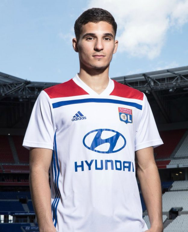 ef8211fa1 New Olympique Lyon Jersey 2018-2019