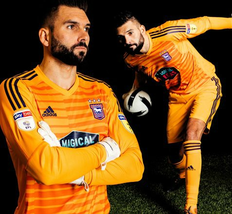 Ipswich Town Goalkeeper Shirt 18-19