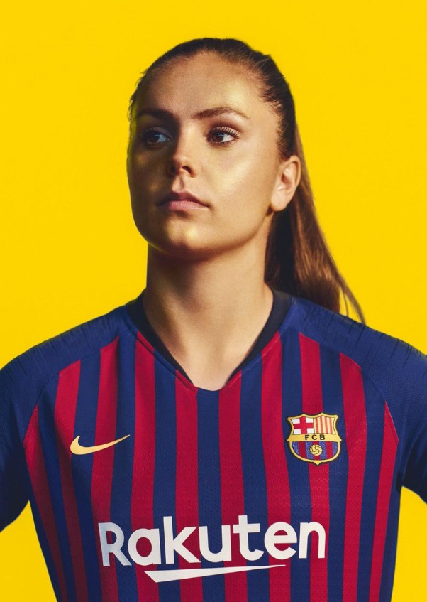 Lieke Martens in new Barcelona Kit 18 19