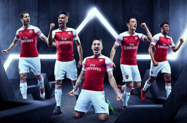 New Arsenal Jersey 2018-2019