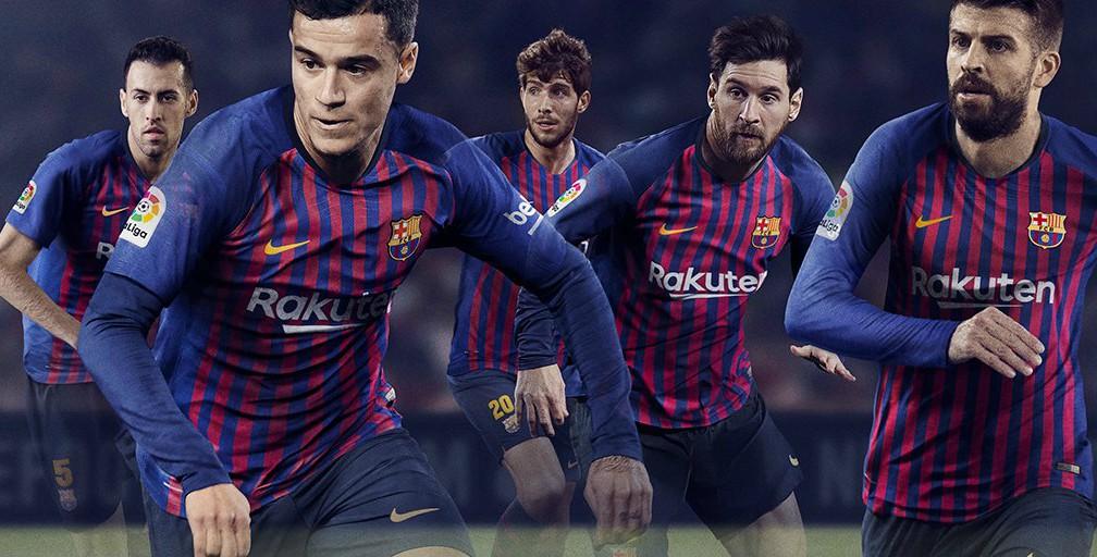 New Barca Kit 2018 19