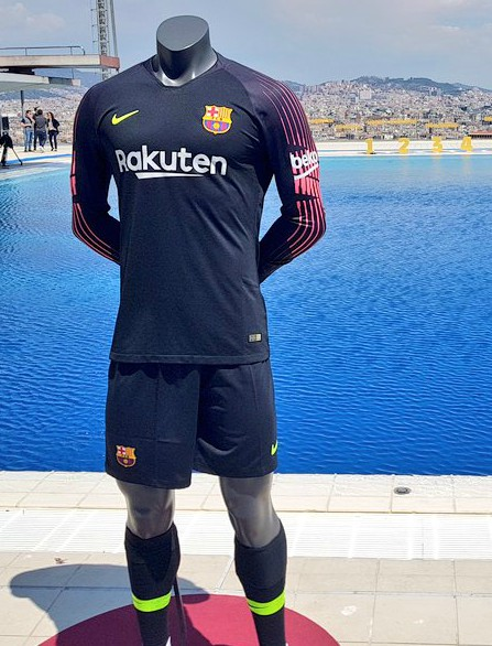 New Barca Jersey 2018 2019 Nike Fc Barcelona Home Goalkeeper Kit