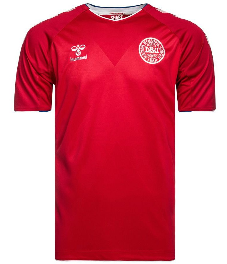New Danish World Cup Jersey 2018