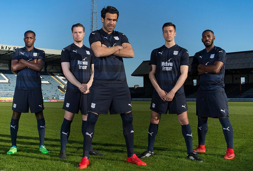 New Dundee FC Strip 18 19