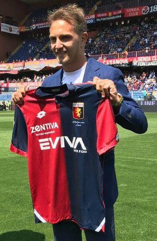 New Genoa Kit 2018 19