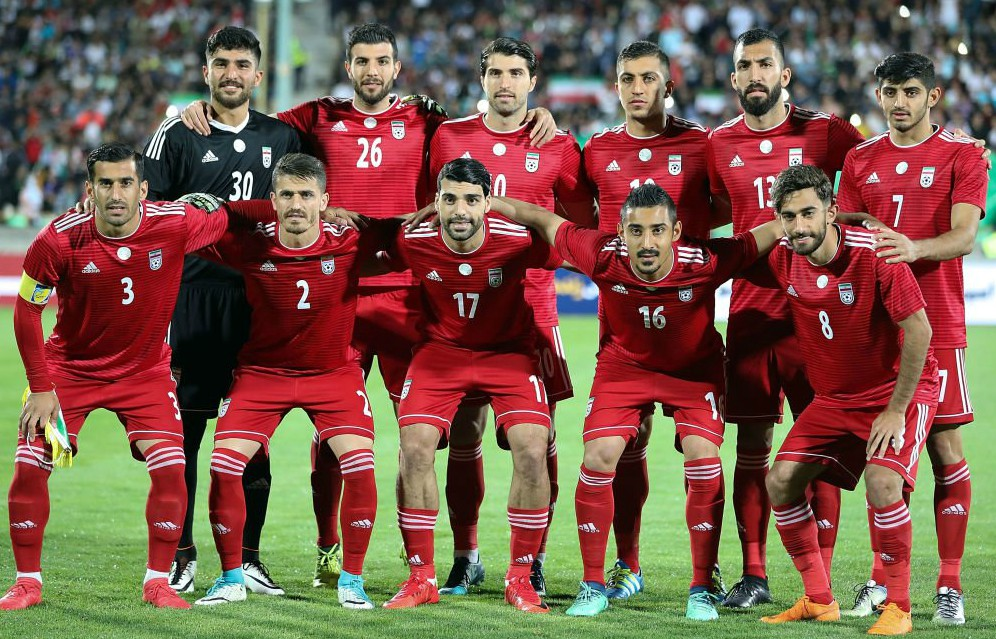 New Iran Away World Cup Kit 2018