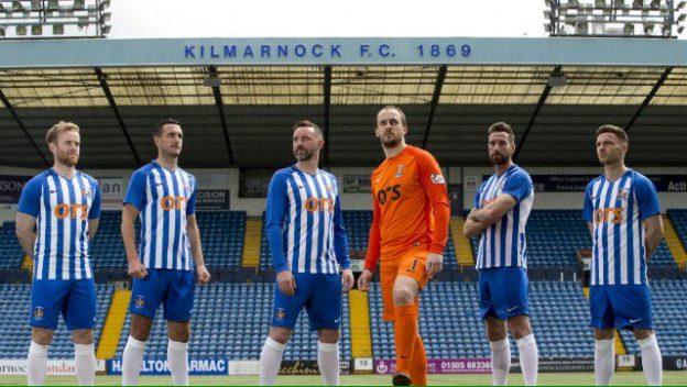 New Kilmarnock FC Strip 2018 19