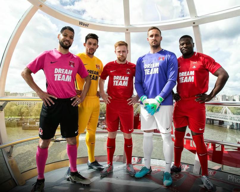 New LOFC Kits 2018 19 Dream Team