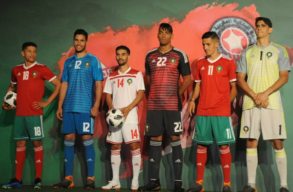 New Morocco Kits World Cup 2018