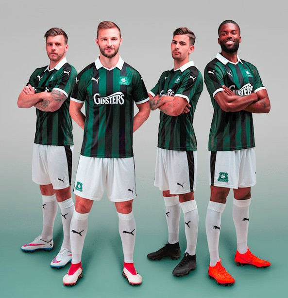 New Plymouth Argyle Kit 2018 19