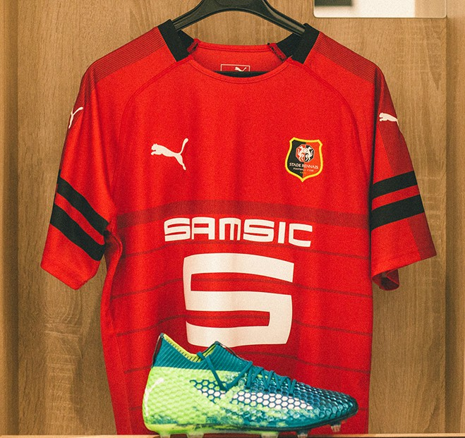 New Rennes Home Shirt 2018 19