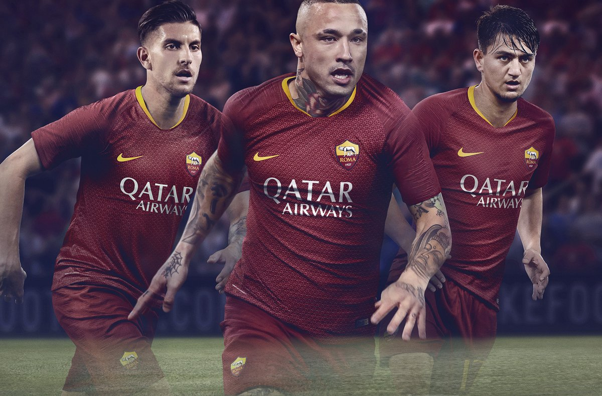 New AS Roma Jersey 2018-2019 | Nike Roma Lorica Hamata