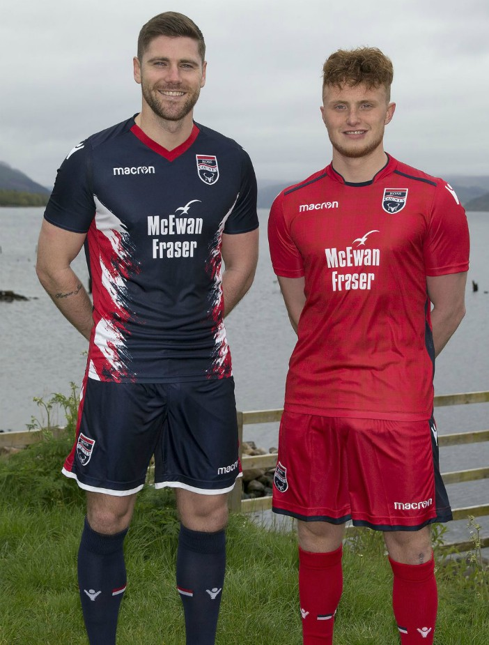 New Ross County Strip 2018 19