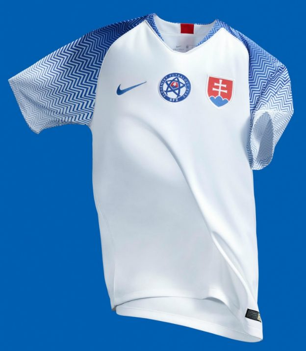 best authentic 9d2b6 86533 New Slovakia Jersey 2018-2019 | Nike Slovak Home Kit 18-19 ...