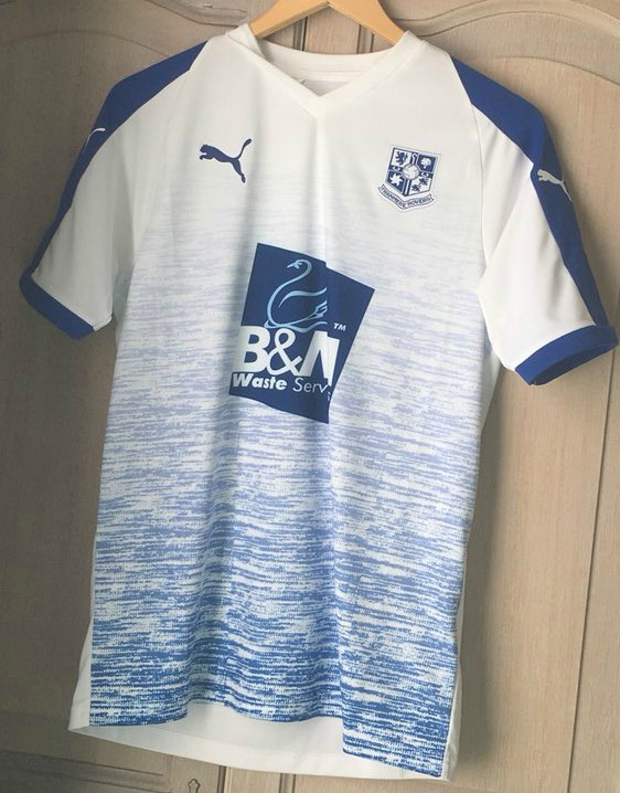 New Tranmere Rovers Shirt 2018 19