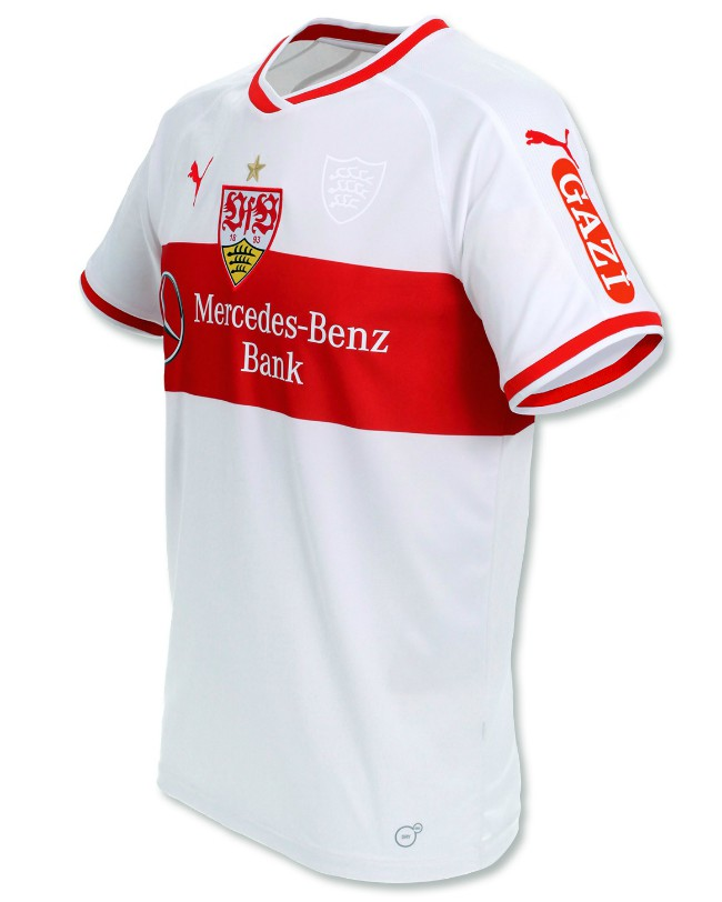 New VfB Stuttgart Home Shirt 18 19