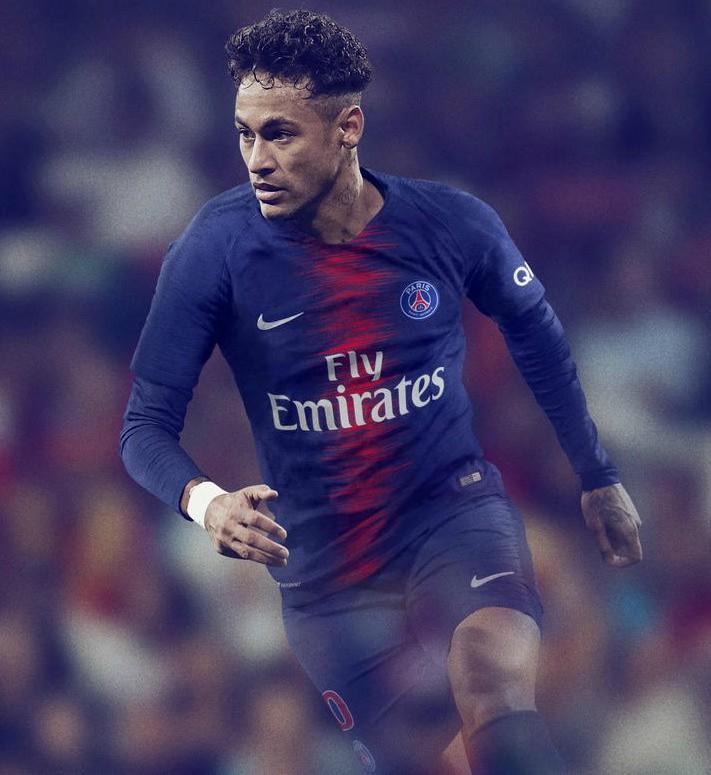 Neymar PSG Jersey 2018 19