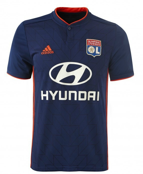 Olympique Lyon Away Kit 2018 19