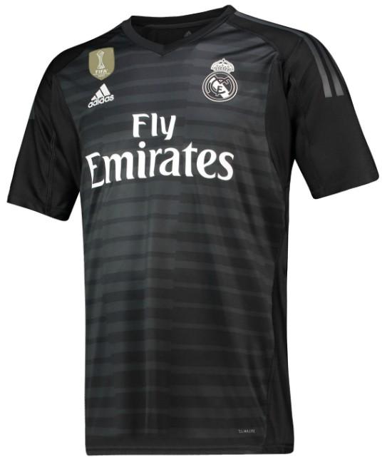 Real Madrid Home Goalkeeper Shirt 2018-19