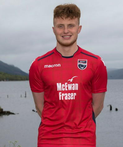 Red Ross County Away Kit 18-19