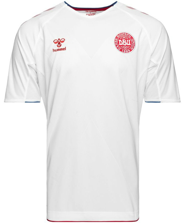 White Denmark Jersey World Cup 2018