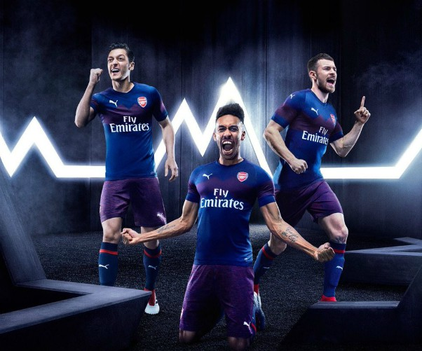 Arsenal New Away Strip 2018-19