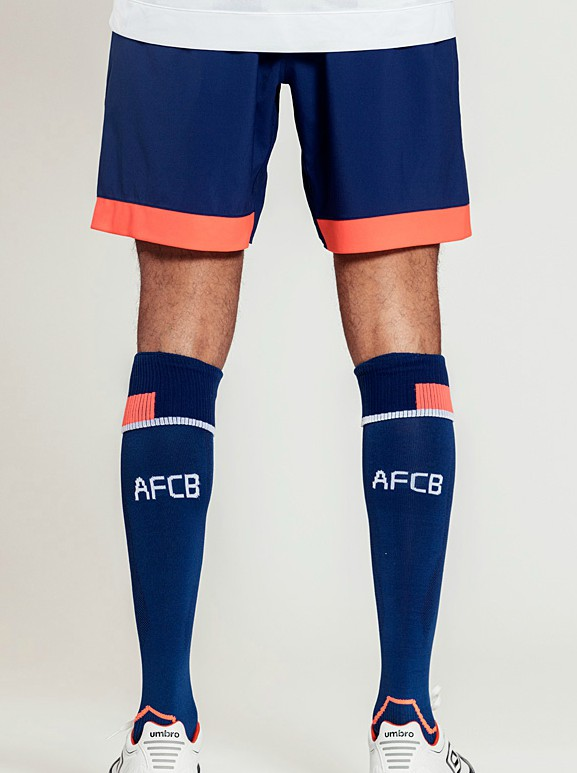 Back of Bournemouth Shorts and Socks 18-19