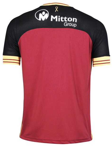 Back of Bradford City Shirt 18-19