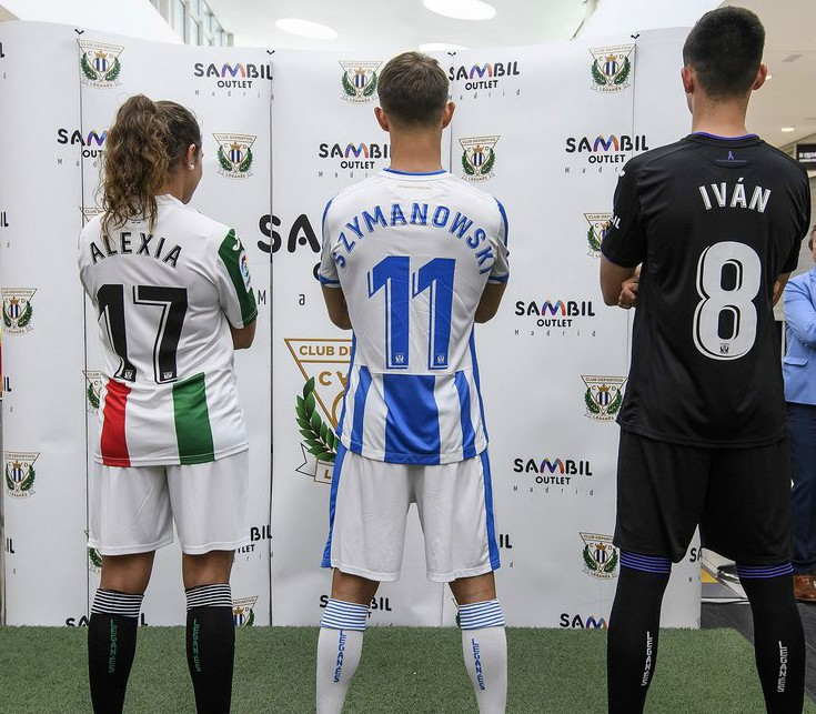 Back of Leganes Shirt 18-19