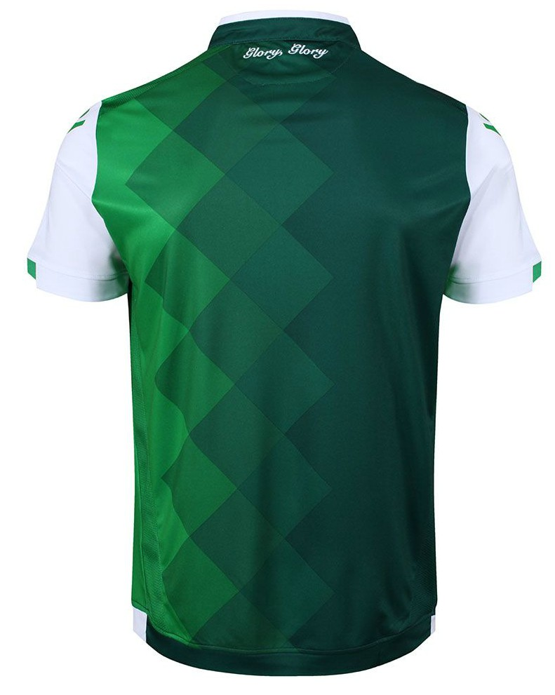 Back of New Hibs Shirt 18-19