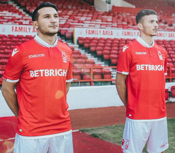 Betbright Nottingham Forest Sponsor 18-19