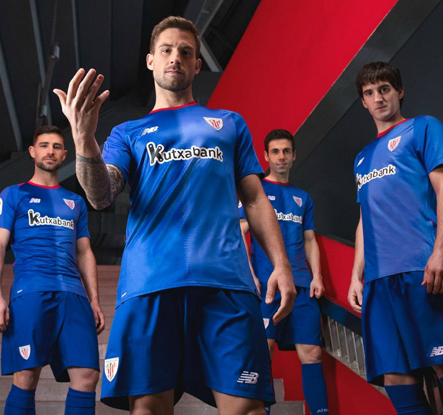 Blue Athletic Bilbao Shirt 2018-19