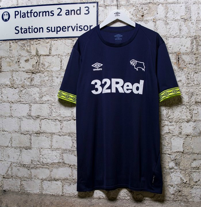 Blue Derby County Kit 18-19