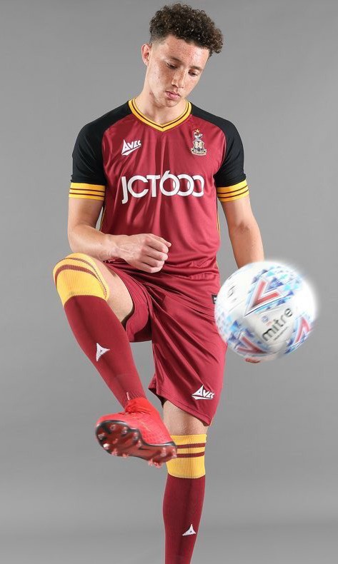 Bradford City New Avec Shirt 2018-19