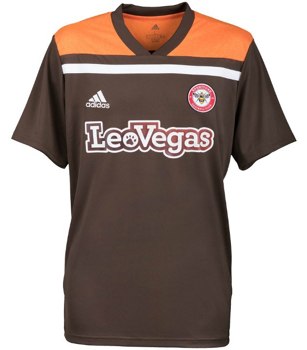 Brown Brentford Shirt 2018-19