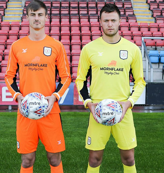Crewe Alexandra Goalkeeper Kit 2018-19 Shirt