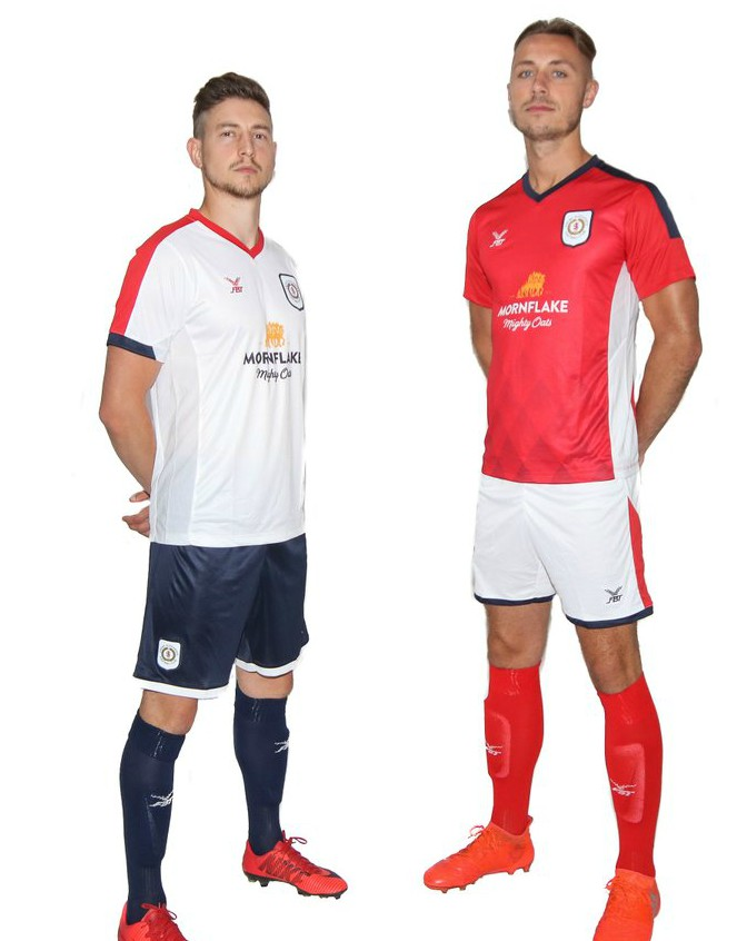 FBT Football Shirts 2018-19 Crewe Alexandra