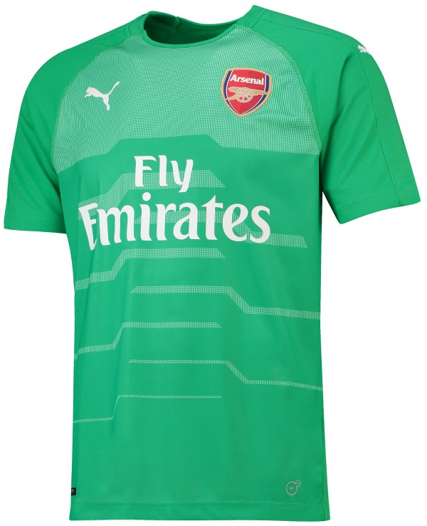 Green Arsenal Goalkeeper Kit 2018-19