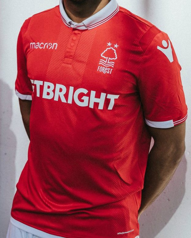 3a4cdb85 New Nottingham Forest Kit 2018-2019 | Macron NFFC Home Shirt 18-19 ...