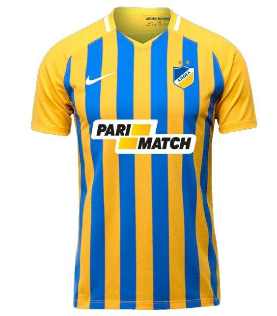 New APOEL Football Shirt 2018-19