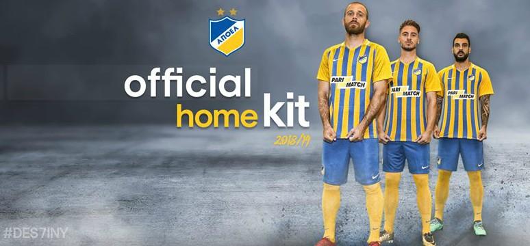 New APOEL Nicosia Jersey 2018-2019