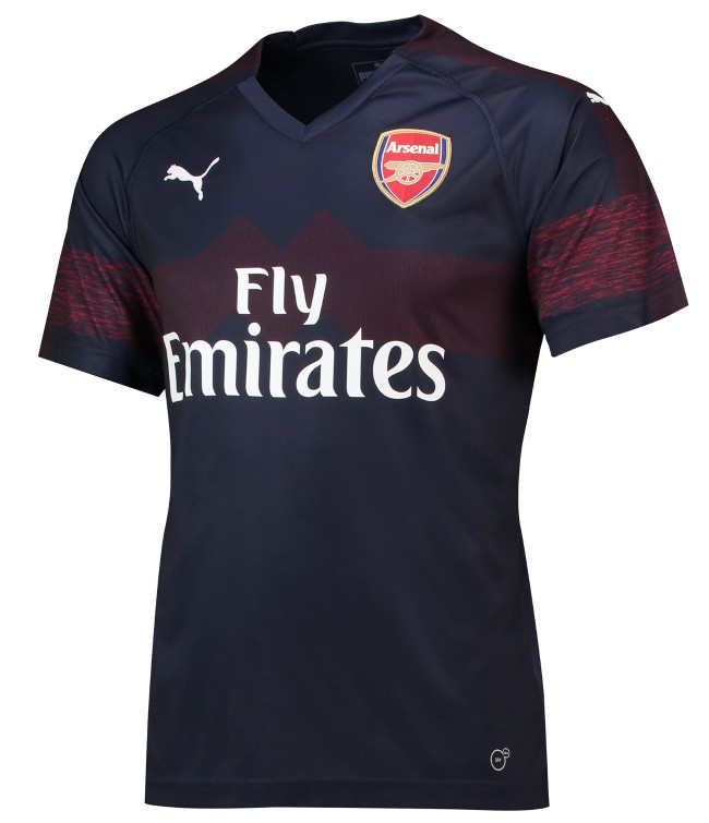08956777329 New Arsenal Away Kit 2018-2019 | Blue AFC Alternate Jersey 18-19 ...