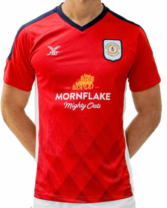 New Crewe Alexandra Home Kit 18-19